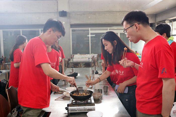 北京大學學生體驗高齡共餐系統-高齡者健康飲食