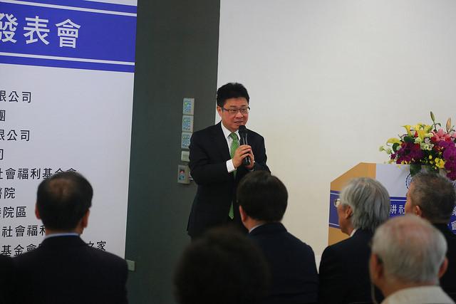 台中市政府社會局長呂建德致詞